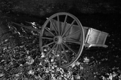 Coal Cart at Hopewell Furnace,