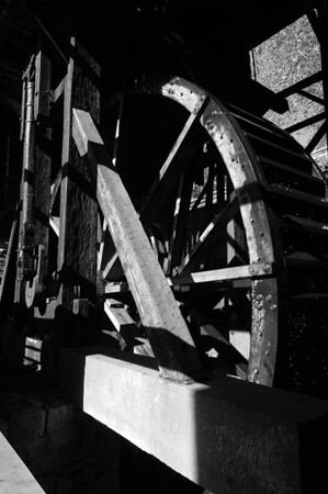 Waterwheel at Hopewell Furnace,
