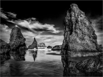 Sea Stacks #15a