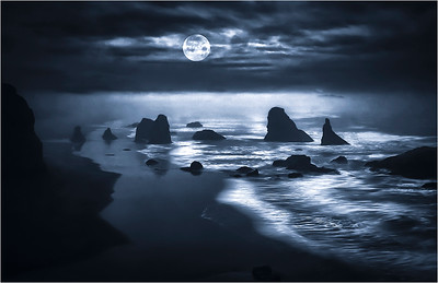 Bandon 8 with Blue Moon