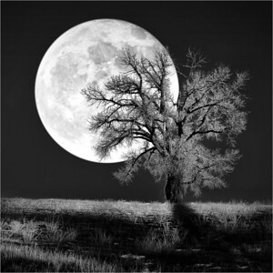 Moonrise 1c BW