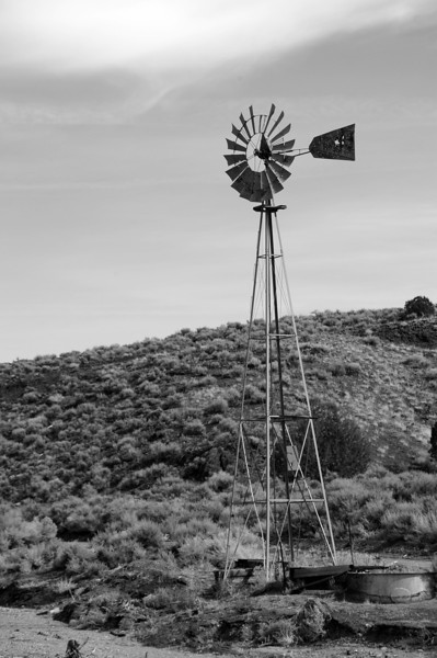 Windmill, Still Water Range, NV