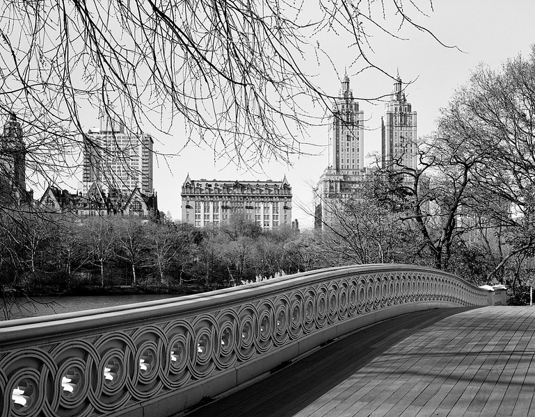 Bow Bridge and Skyline