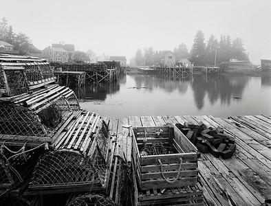 Misty Morning, Port Clyde
