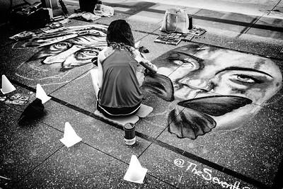 Street Art Angel