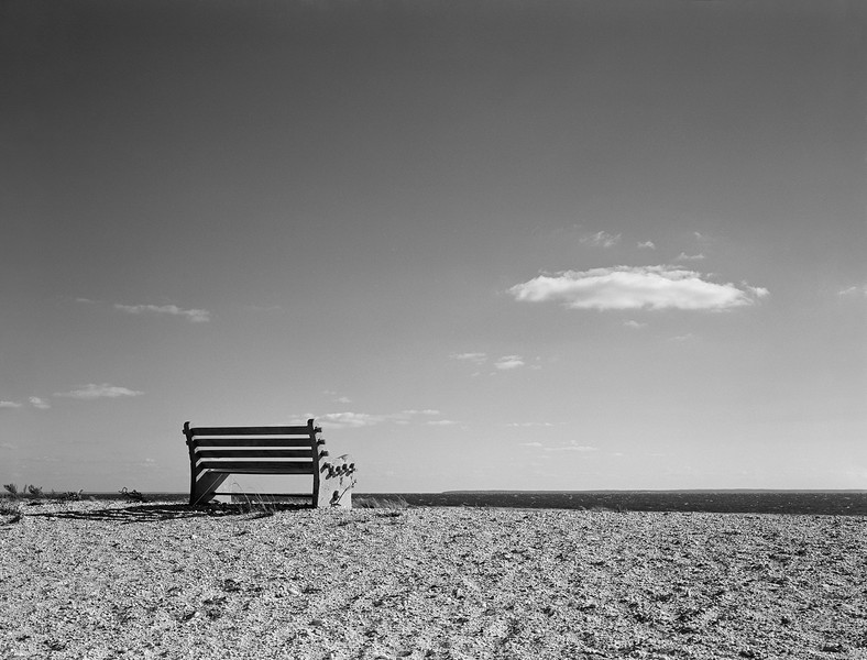 Bench and Cloud