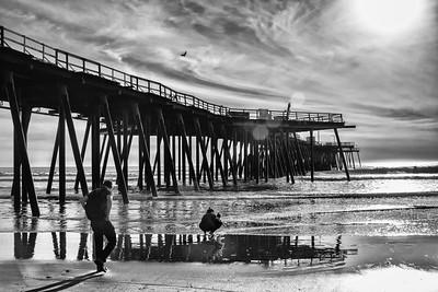 Gray Sunset Beach