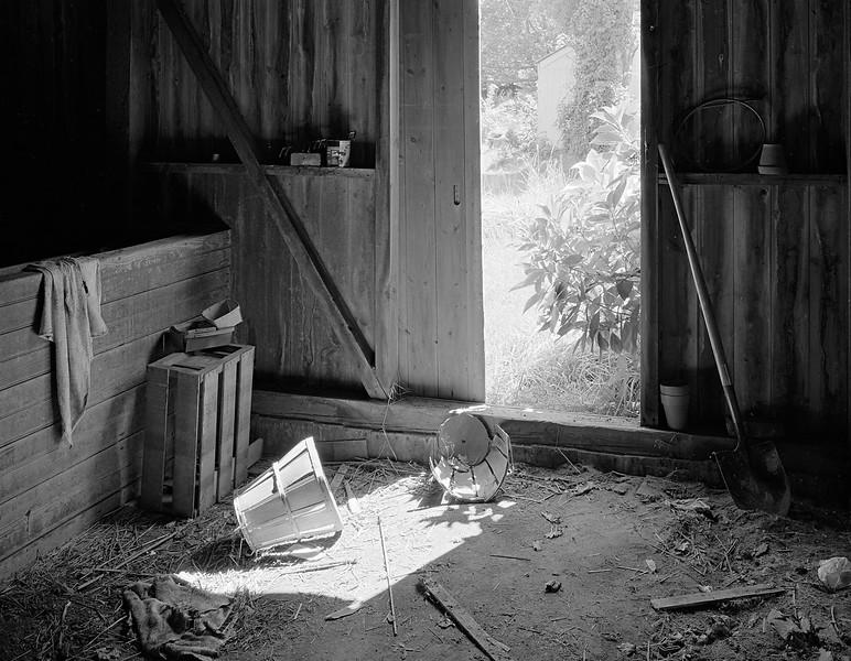 Barn Interior and Baskets