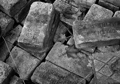 Stack of Paving Bricks