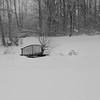 Little Bridge in Snow