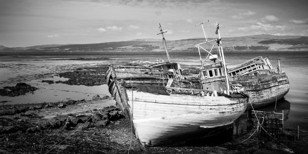 Old Boats, Mull