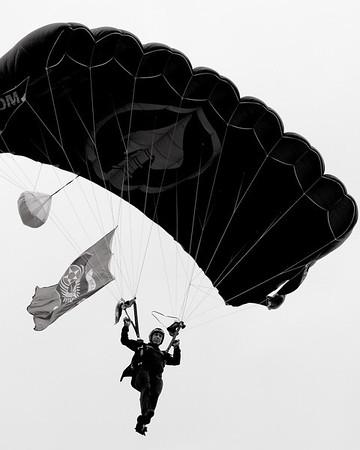 Military in Black & White