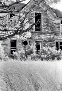 Old Farmhouse,  Willow Springs, WA