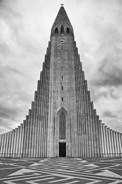 Hallgrimskirkja - Reykjavik, Iceland
