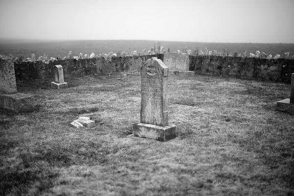 Foggy Graveyard #1