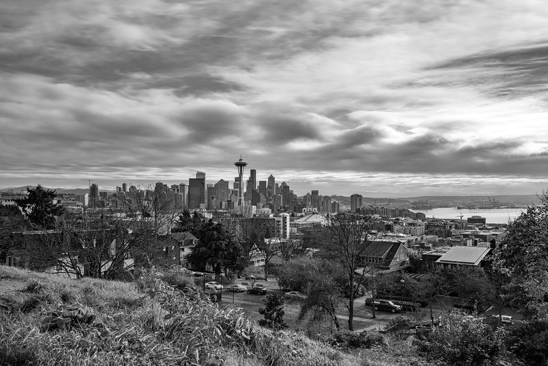 Seattle Under the Soft Clouds