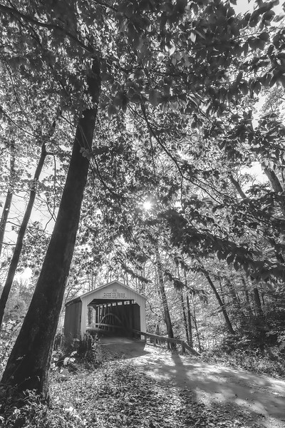 Zacke Cox Covered Bridge in Parke County Indiana