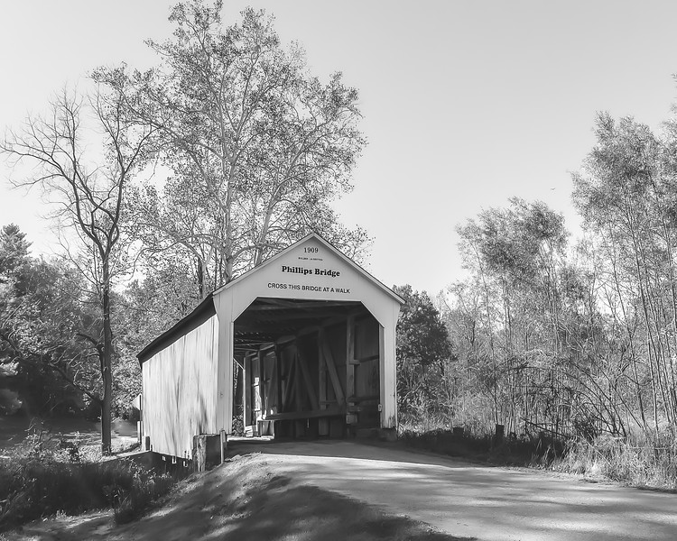 Philips Covered Bridge in Parke County Indiana