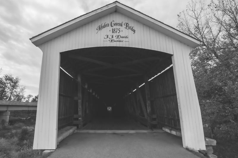 Medora Covered Bridge in Jackson County Indiana