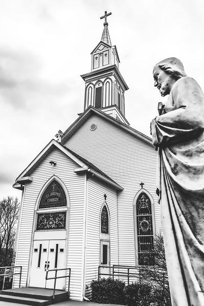 St. Joseph's Church in Bramble Indiana