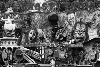 Ghost Train meets Toy Town Railway - Goldwell Park Newbury