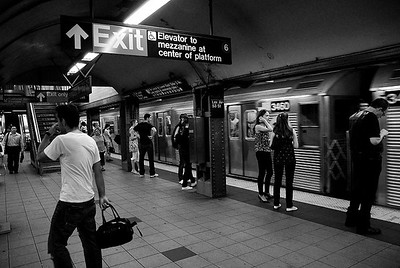 Lex Ave - 53rd Street Subway Station, NYC