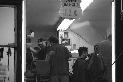 Barber Shop, East 45th Street, NYC