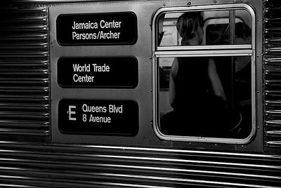 The 'E' Train, NYC