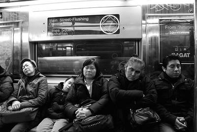 The '7' Subway Train, NYC