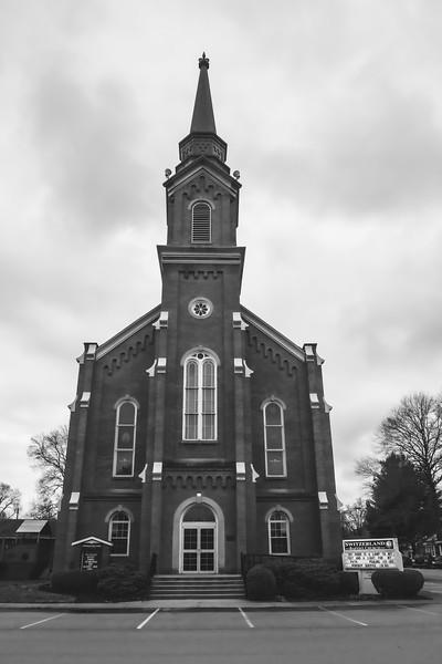Switzerland Baptist Church in Vevay Indiana