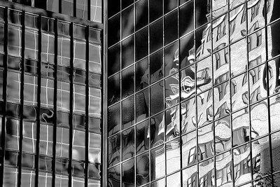 Midtown Distortions 8422bw