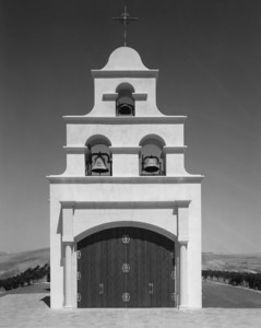 Chapel Hill located near Creston, California.  This photo was taken on a hot summer day (I think it was 1994) with the sun directly overhead.  The camera was a clunky old 8x10 field camera using Kodak Plus X.