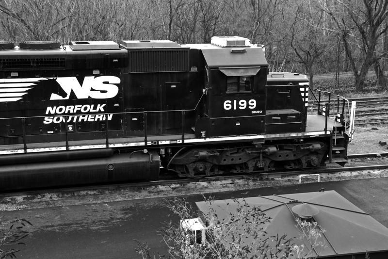 Allentown Yard - Allentown, PA - 2012