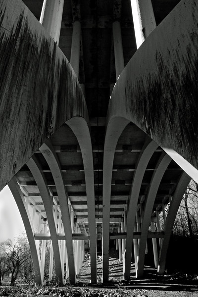 I-78 bridge and Lehigh Parkway - Allentown, PA - 2011