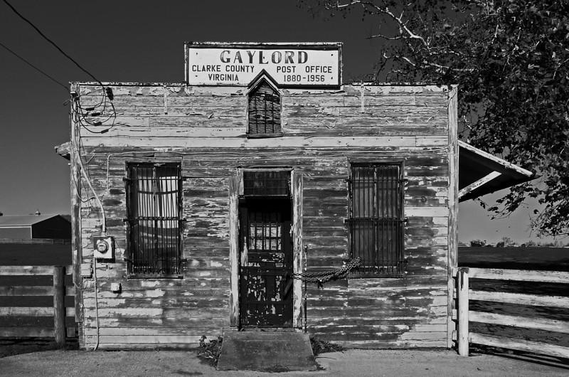 Clarke County Post Office - Gaylord, VA - 2011