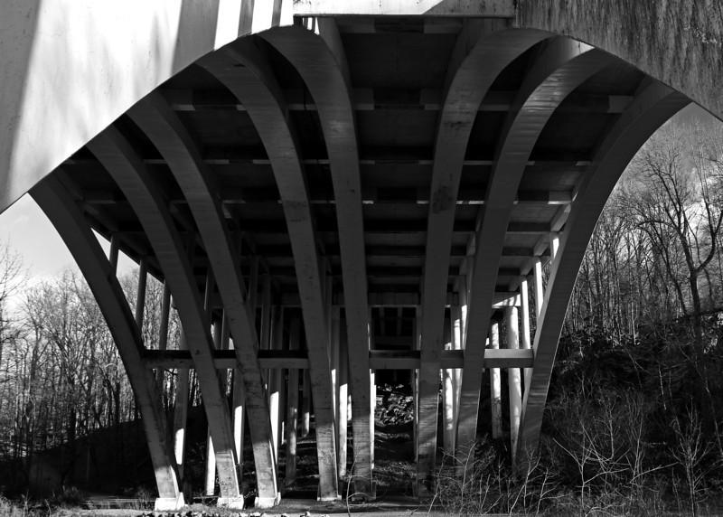 I-78 Bridge over the Lehigh Parkway - Allentown, PA - 2013