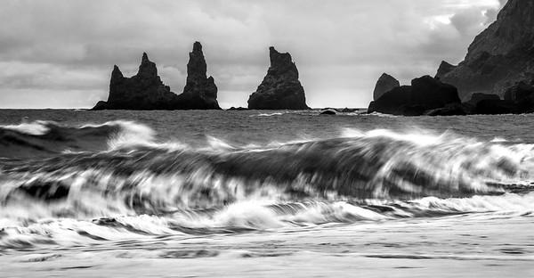 Reynisdrangar at Black Sand Beach