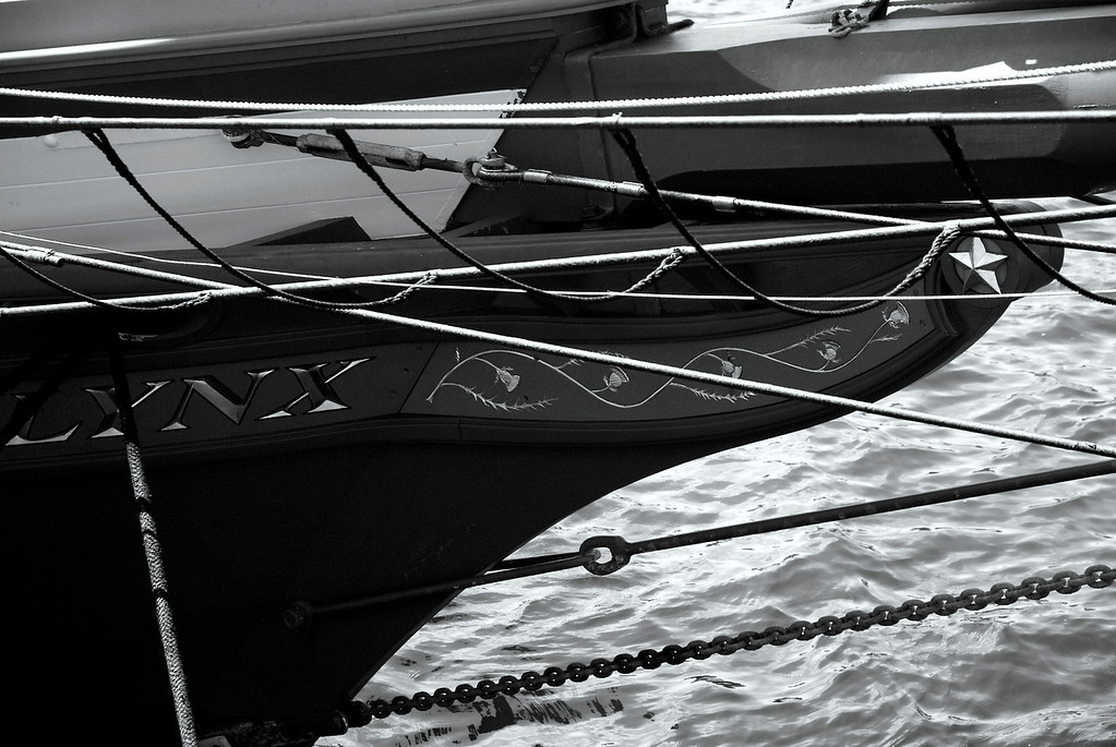 Lynx Tall Ship Bow