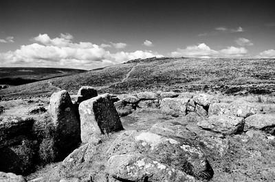 Bronze age remains on Dartmoor