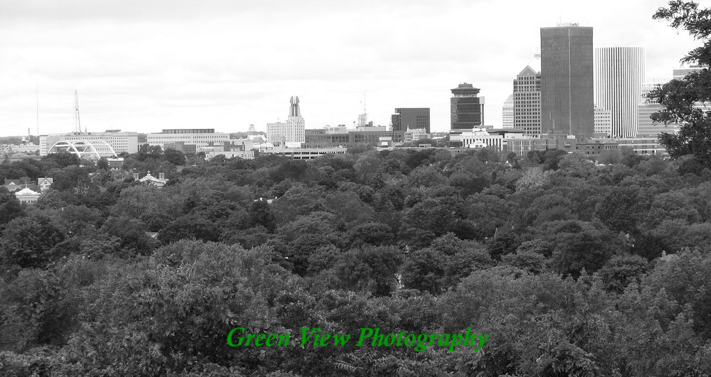 Rochester From Cobbs Hill