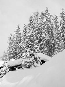 Davos during winter, Switzerland, EU