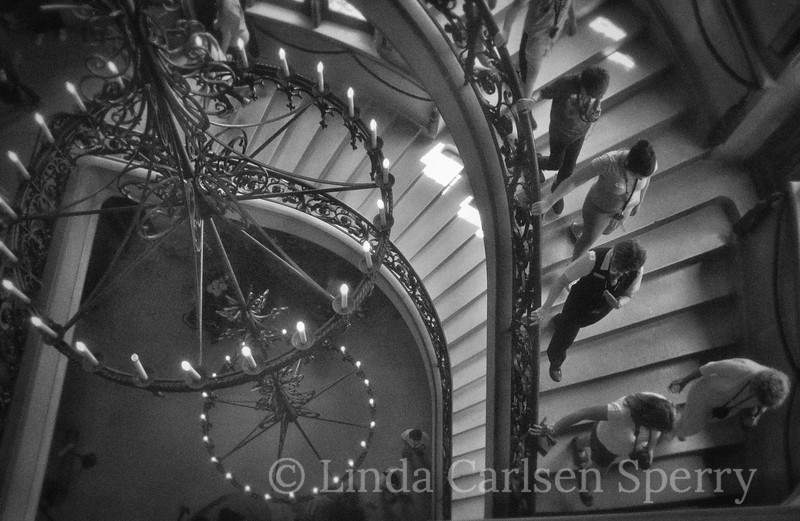 Biltmore Stairs B &W