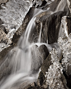 Timberline Falls - October Ice Sculpture Rocky Mtn National Park, Colorado