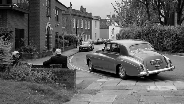 The 1964 Bentley S3 - West Mills Wedding Car BW