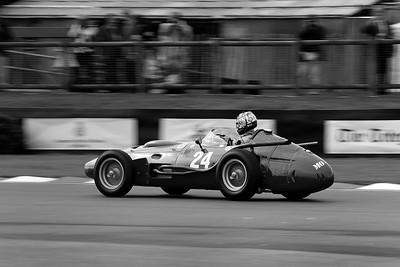 Max Werner 1957 Maserati 250F V12 2491cc mono