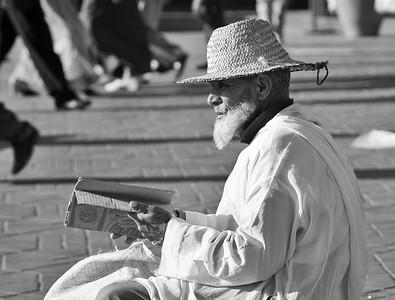 Man at Place Djamaa el Fna