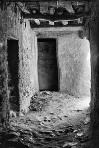 Door of house at Tinerhir