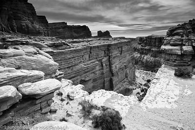 Scenery at Shafer Trail at Canyonsland Utah