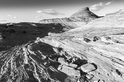 Rock formations near Page, Arizona