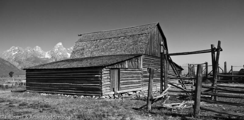 Barn at Mormon row Grand Teton National Park  Filename: CEM005770-TetonNP-WY-USA.jpg